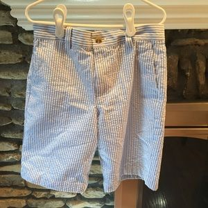 Vineyard Vines boys shorts seersucker